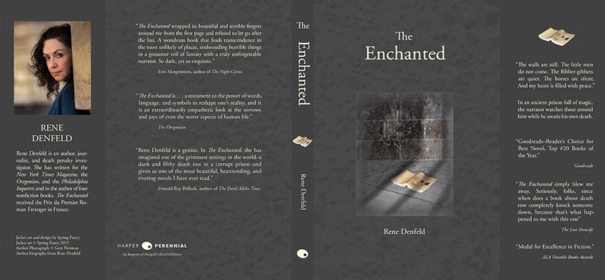 Book Jacket Wall Art : Enchanted book jacket